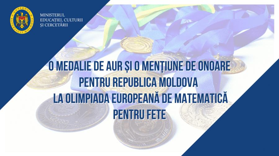 Două eleve din țară au obținut medalie și mențiune de onoare la Olimpiada Europeană de Matematică pentru Fete