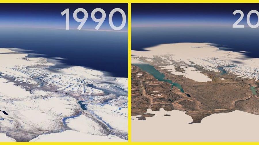 (VIDEO) Imagini reale din cosmos despre cum s-a schimbat planeta Pământ în ultimii 37 de ani