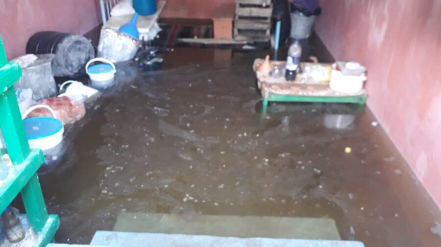 FOTO, VIDEO S-au trezit în apă și nămol la propriu! Ploile de aseară au afectat câteva gospodării din sudul țării