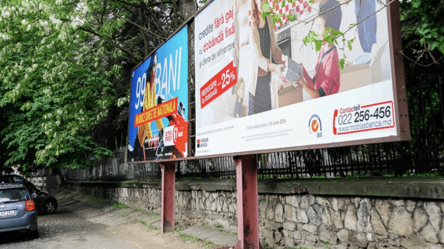 Publicitatea stradală din Chișinău! Primăria vs. haosul și interesele agenților economici din domeniu