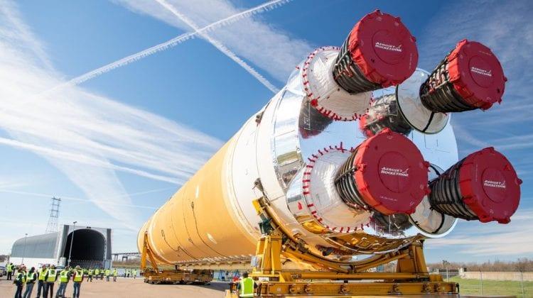 (VIDEO) NASA: Testarea celei mai puternice rachete din lume s-a încheiat cu succes