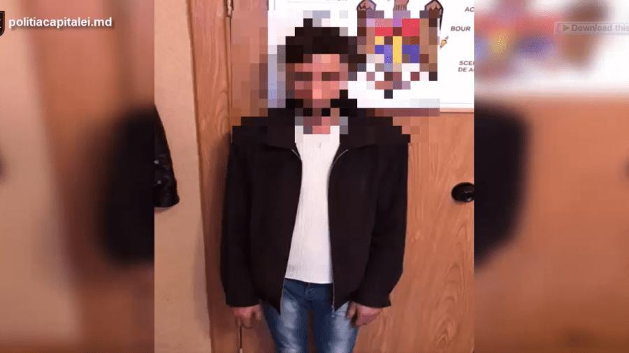 (VIDEO) Un bărbat din Capitală reținut pentru furt. Ce riscă acesta