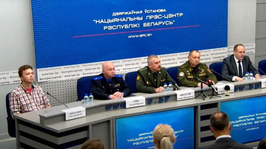 """Spunem NU! Jurnaliști declară boicot conferințelor lui Lukașenko. """"L-au adus forțat pe Roma"""""""