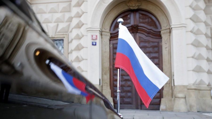 """Kremlinul, care a """"paralizat"""" ambasada Cehiei: Această tonalitate este inacceptabilă în timp ce se vorbește cu Rusia"""