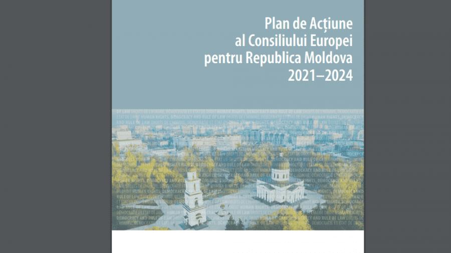 (VIDEO) CoE a lansat planul de acțiuni 2021–2024 pentru R. Moldova. Ce prevede documentul