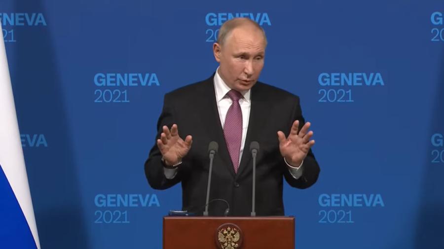 VIDEO Ultima întrebare pentru Putin a venit de la o copilă de 9 ani. Cum i-a răspuns?!