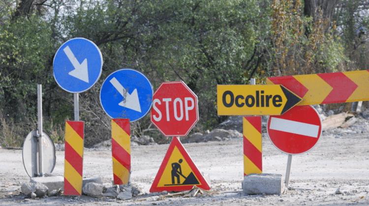 ATENȚIE! În zilele de wekeend va fi suspendat total traficul rutier pe tronsonul: strada Eugen Coca și Calea Ieșilor