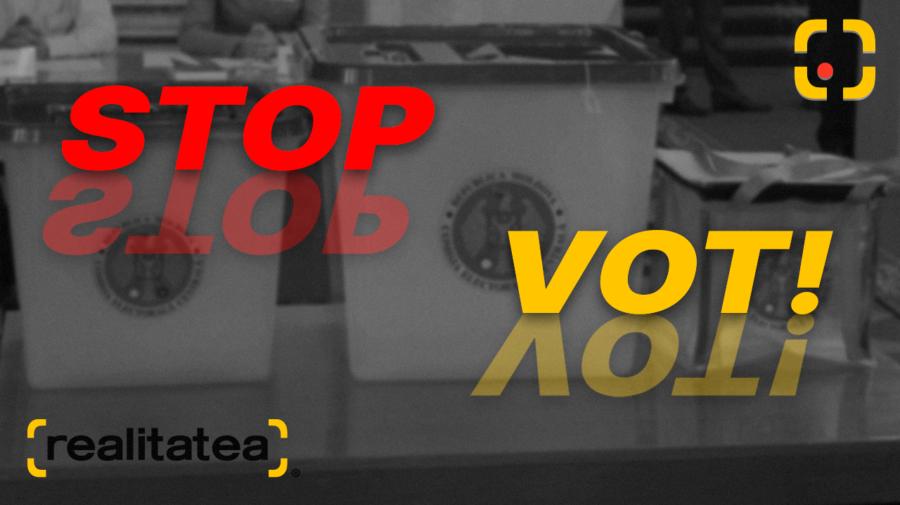 STOP VOT! La ora 21:00, procesul de vot din țară a fost încheiat. Așteptăm primele detalii ale CEC privind scrutinul