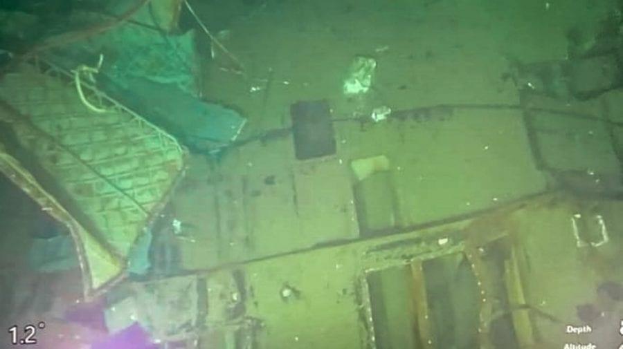 (VIDEO, FOTO) Primele imagini ale epavei submarinului dispărut! Ce s-ar fi întâmplat în ultimele sale minute ?