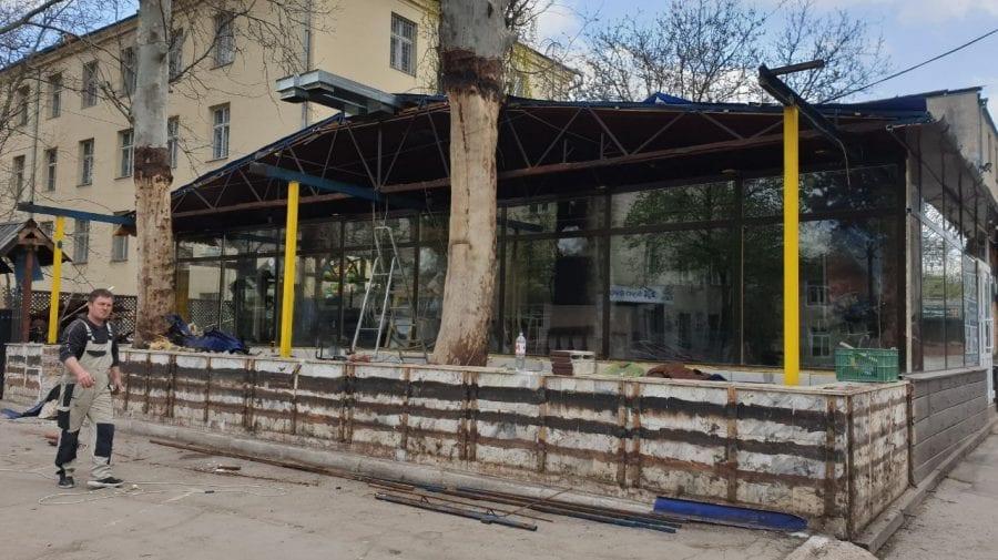 Municipalitatea continuă lupta cu construcțiile amenajate ilegal. Unde s-a intervenit de această dată