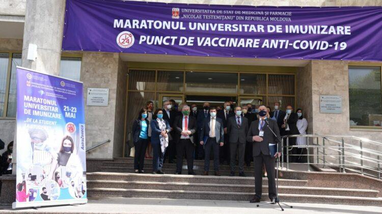 Veniți la RAPEL! Îndemnul USMF către moldovenii vaccinați cu prima doză de ser anti-COVID