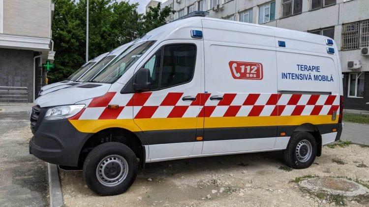 Institutul de Medicină Urgentă și-a modernizat parcul de ambulanțe! Cât au costat opt autospeciale de tip C