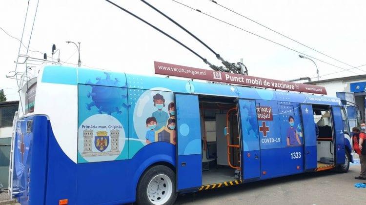 (FOTO) Pregătirile sunt aproape gata! Cum arată punctele mobile de vaccinare anti-COVID care vor circula prin Capitală