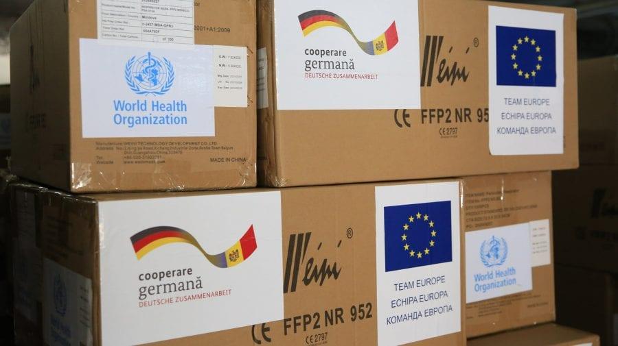 Germania a întins o mână de ajutor Moldovei. Un lot de echipamente medicale livrate la Chișinău