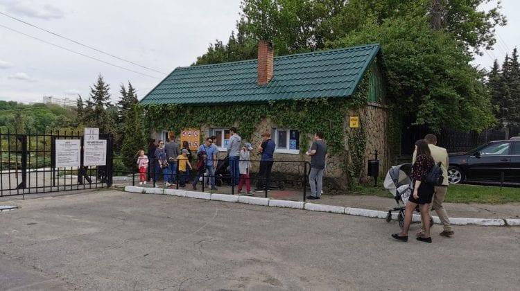 Gata cu rândurile! În parcul Dendrariu a fost deschisă o nouă poartă de acces