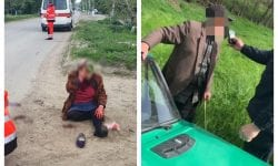 A lovit o femeie, însă și-a continuat calea. La 90 de ani, un șofer nu a știut că nu trebuie să părăsească locul faptei