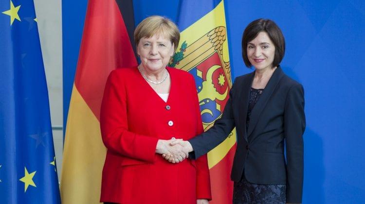 Sandu pleacă în Germania. Se va întâlni cu omologul german și cancelarul Angela Merkel