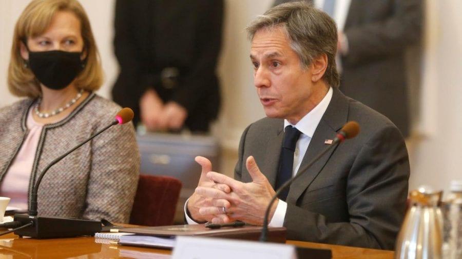 Antony Blinken: Federația Rusă nu și-a retras toate trupele de la frontiera ucraineană, astfel, amenințarea rămâne