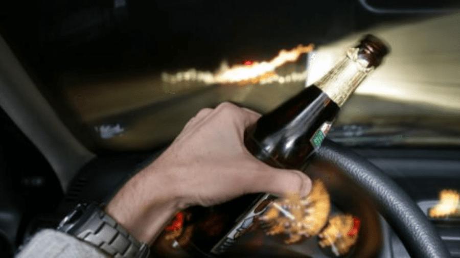 Beat și neînfricat. Un şofer din raionul Criuleni a încercat să fugă de poliție