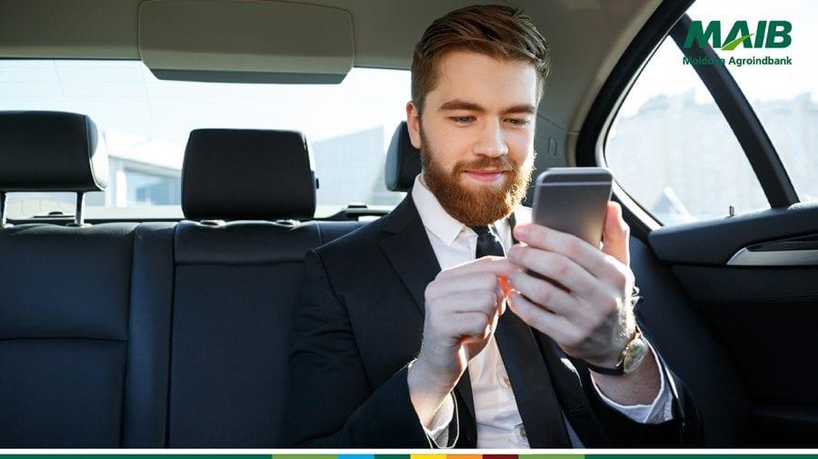 MAIB a lansat o nouă aplicație mobilă destinată oamenilor de afaceri