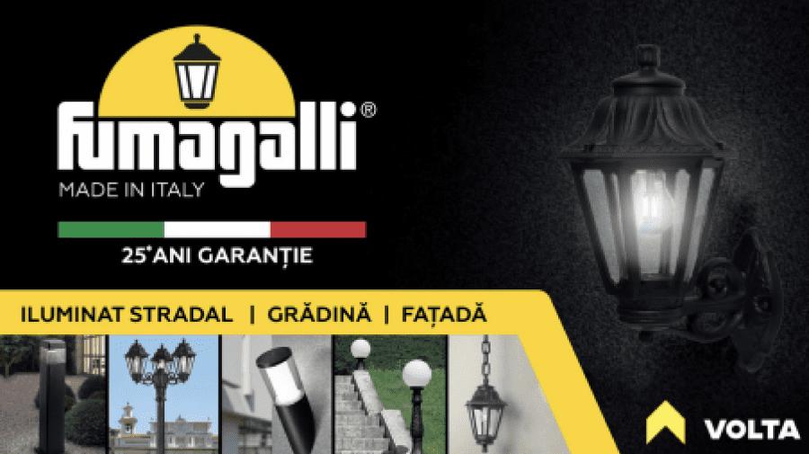 Fumagalli – Iluminat exterior și de grădină cu garanție de până la 25 ani
