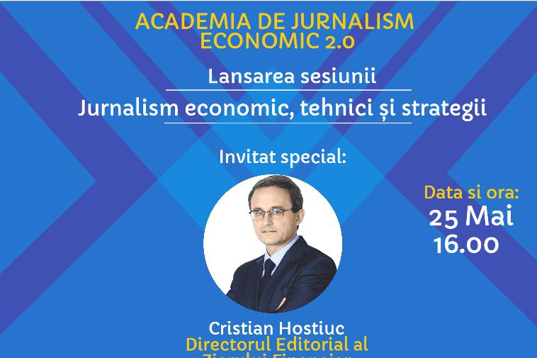 EBA Moldova lansează Academia de Jurnalism Economic 2.0 cu Cristian Hostiuc, director editorial ZF, România