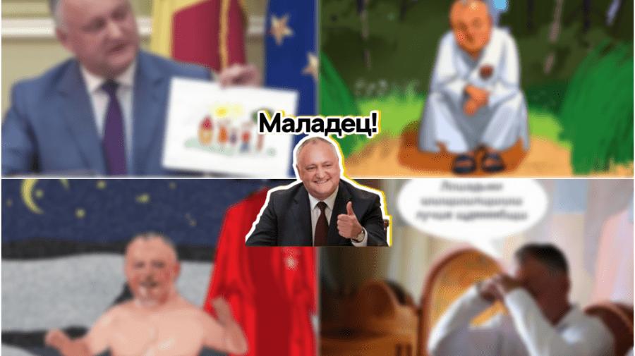 Meme-uri amuzante cu Dodon de-a lungul timpului: Prindeți una recentă!