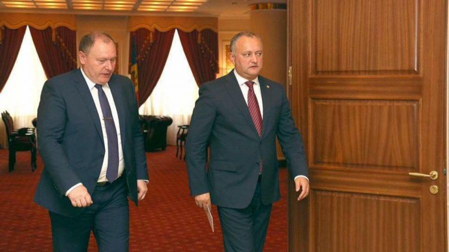 Dodon pune capul la bătaie pentru Rusia în detrimentul Moldovei. L-a nemulțumit actul semnat de Ciocoi în Ucraina