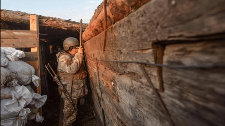 Ucraina a înregistrat ieri în Donbas șase încălcări de încetare a focului
