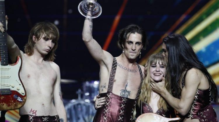 """Trupa rock """"Maneskin"""", care a obținut primul loc la Eurovision, este pregătită să dea test la droguri"""