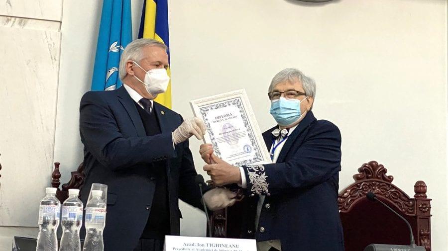 Gheorghe Mustea, celebrat la cei 70 de ani în incinta Academiei de Științe a Moldovei