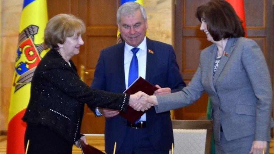 Roadele primei zile în Belarus a delegației moldovenești. A fost semnată o Declarație comună