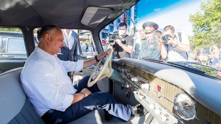 """""""Dodon turistul"""" începe deplasările prin teritoriu în cadrul campaniei electorale. Azi – la Anenii Noi"""
