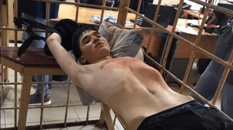 (VIDEO) Atenție, limbaj indecent! Primele imagini cu tânărul care a ucis 7 copii și doi adulți într-o școală din Rusia