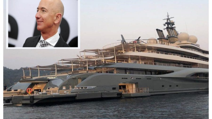 Cel mai bogat om din lume își construiește un superiaht de mărimea piramidei din Giza