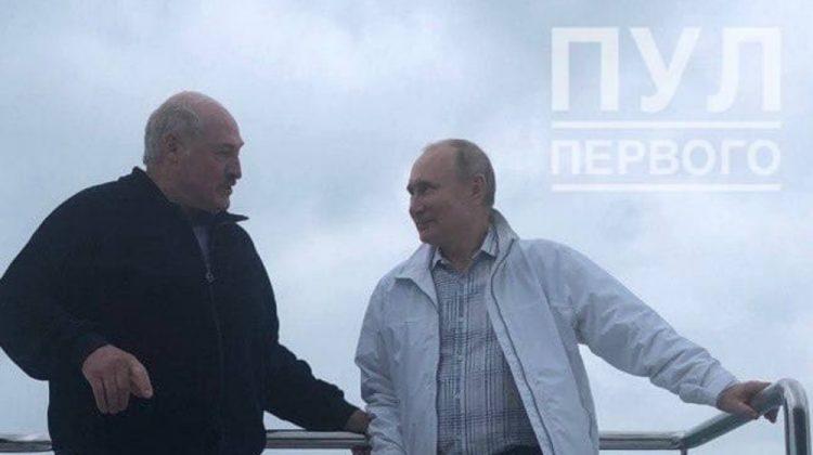 Putin și Lukașenko s-au văzut într-o atmosferă informală. S-au scăldat?! (FOTO)
