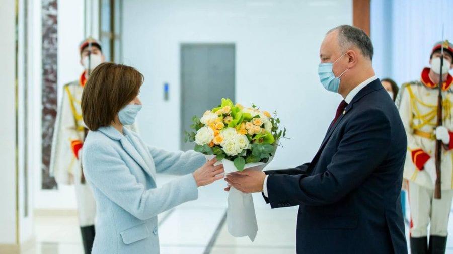 Stimată doamnă Președinte… Igor Dodon și mesajul cu iz electoral adresat Maiei Sandu de ziua ei de naștere