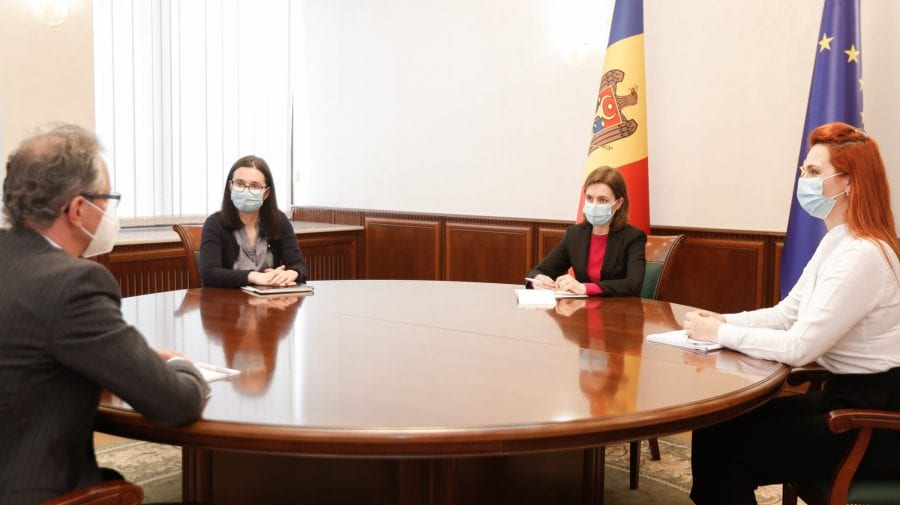 Maia Sandu a discutat cu șeful Misiunii OSCE în R. Moldova despre provocările de securitate