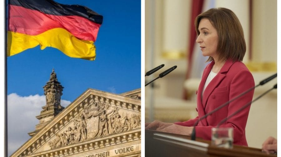 """Maia Sandu ia astăzi la """"pas"""" Berlinul. Cu cine urmează să se întâlnească președinta în Germania în prima zi a vizitei"""