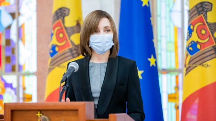 Maia Sandu despre decizia PCCOCS: Gruparea lui Platon reprezintă un pericol pentru securitatea statului