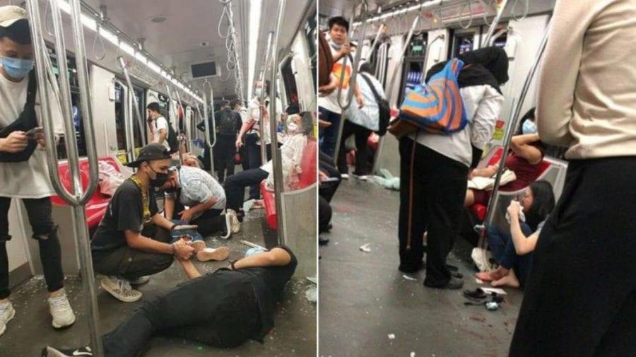 Peste 200 de răniți în Malaezia. Două metrouri s-au ciocnit violent