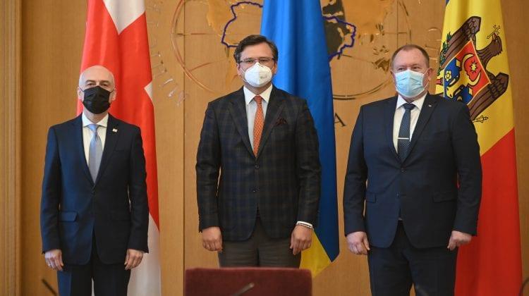 Moldova, Ucraina și Georgia își unesc forțele pentru integrarea în UE. Au semnat la Kiev un memorandum