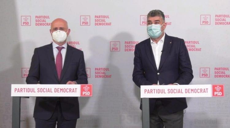 PDM și PSD și-au dat mâna. Au semnat un acord de colaborare între formațiuni
