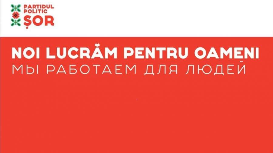 Ilan Șor: Noi lucrăm pentru oameni