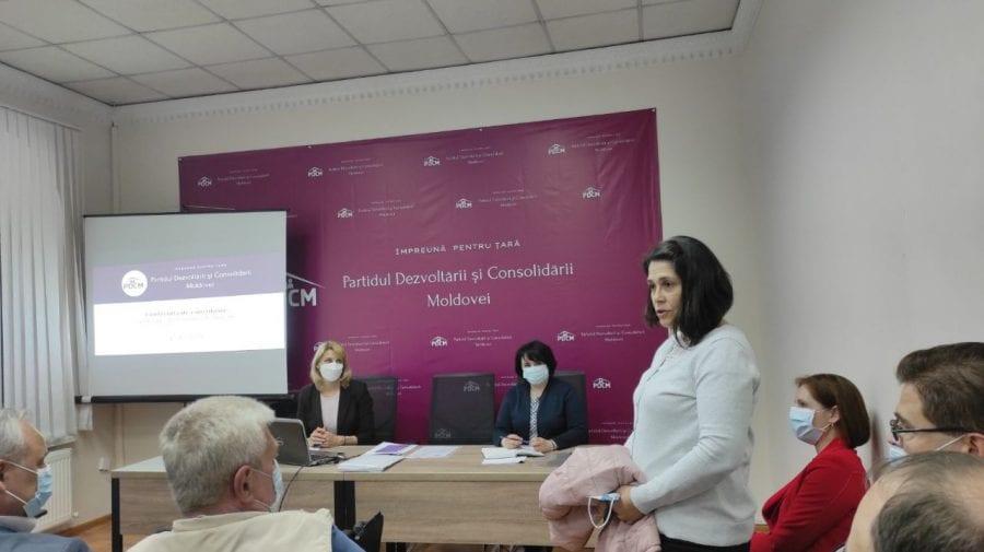 Secretara generală a Guvernului – membră în partidul lui Ion Chicu