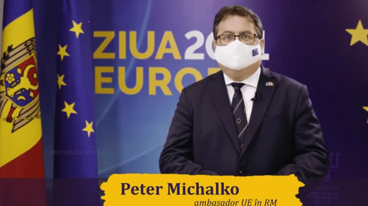 """""""Ziua Europei în 2021 marchează solidaritatea pentru sănătate și pentru un viitor mai bun"""". Mesajul ambasadorului UE"""