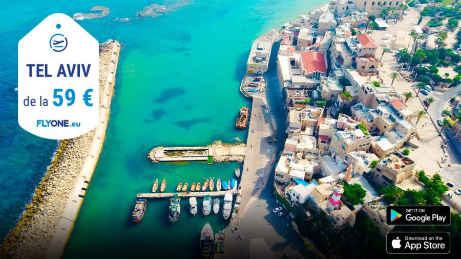 FLYONE lansează zborurile spre Tel Aviv!