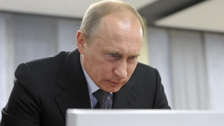 (FOTO) Revoltător! O imagine cu Putin de pe Odnoklassniki, va aduce un rus în fața instanței. Vezi postarea