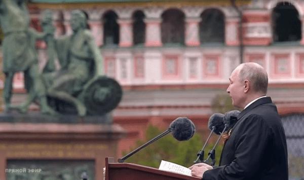 Parada de 9 Mai de la Moscova în direct: Putin a venit însoțit de președintele Tadjikistanului