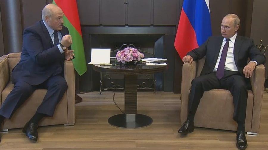 Putin se întâlnește vineri cu Lukașenko în contextul scandalului internațional cu implicarea Belarusului